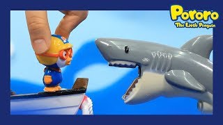 Pororo Toys | Shark attacks | 📌Strange games |What