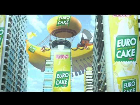 Euro Banana Cake
