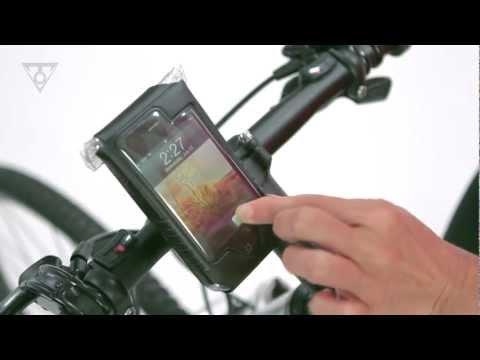 Vídeo - Estojo Impermeável c/ Suporte Topeak Drybag para iPhone 5