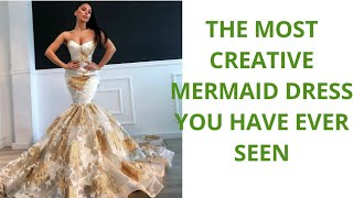 Mermaid Dress; The Most Creative Mermaid Dress You Have Ever Seen💋
