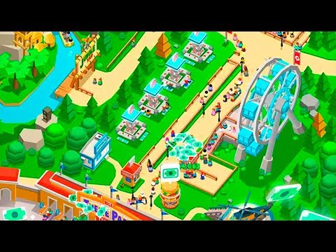 🥇 IDLE THEME PARK TYCOON (Apk Version) Android/ioS Gameplay