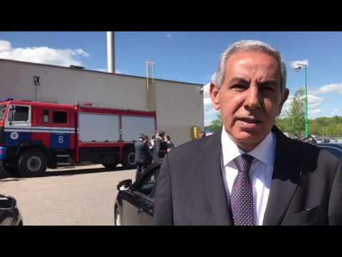 الوزير/ طارق قابيل يتحدث عن أهمية زيارته الى بيلاروسيا