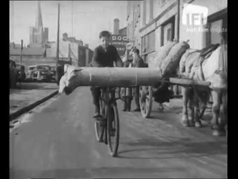 Cycling in Dublin in the 1940s