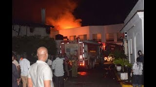 Gas explosion caused Mombasa Hospital fire: police