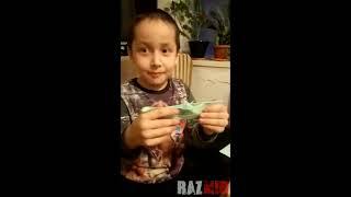 *Кораблик хуяк-хуяк* 😂Как делать бумажный кораблик.Смешное видео детей. Дети приколы. Барбоскины.Ki
