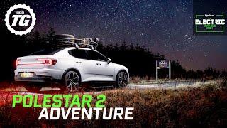 Finding the pole star in an adventure-spec Polestar 2 | Top Gear