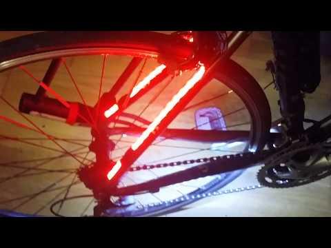freno luci per bici