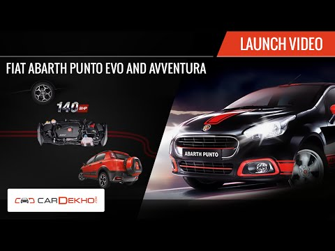 Fiat Avventura and Abarth Punto | Launch Video | CarDekho.com