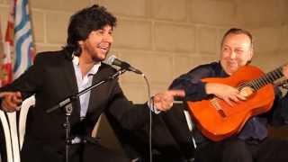 Actuación Paco Cepero y Rancapino Chico en los Claustros de Santo Domingo Jerez