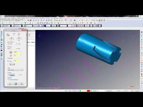DEMO DVD đào tạo Mastercam X7 - Multiaxis - 4D Videos & MP3