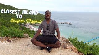 The closest Island to Bangkok (Thailand) Koh Larn island