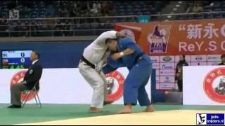 Judo 2012 Grand Prix Qingdao: Kumar (IND) - Kumashiro (JPN) [-100kg]