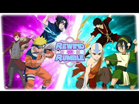 NARUTO vs AVATAR! (Aang vs Naruto Animation)   REWIND RUMBLE! Reaction!