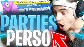 🔴GEMI -*VIENS* JOUER EN *PARTIES PERSONNALISÉES* SUR FORTNITE !! | Fortnite Gameplay Fr ✔️