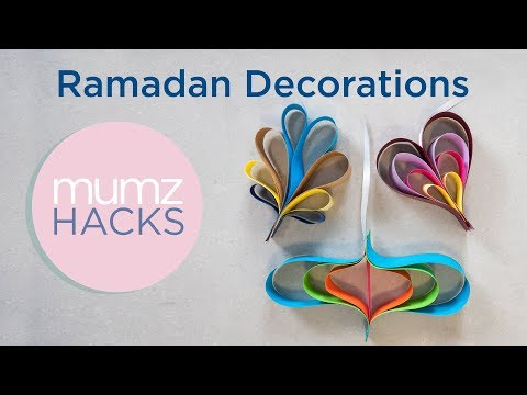 Ramadan Paper Decorations!