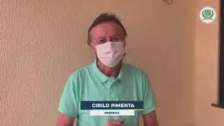 Atenção para novas informações, sobre as medidas tomadas contra a COVID-19, no âmbito do Município de Quixeramobim-Ce.