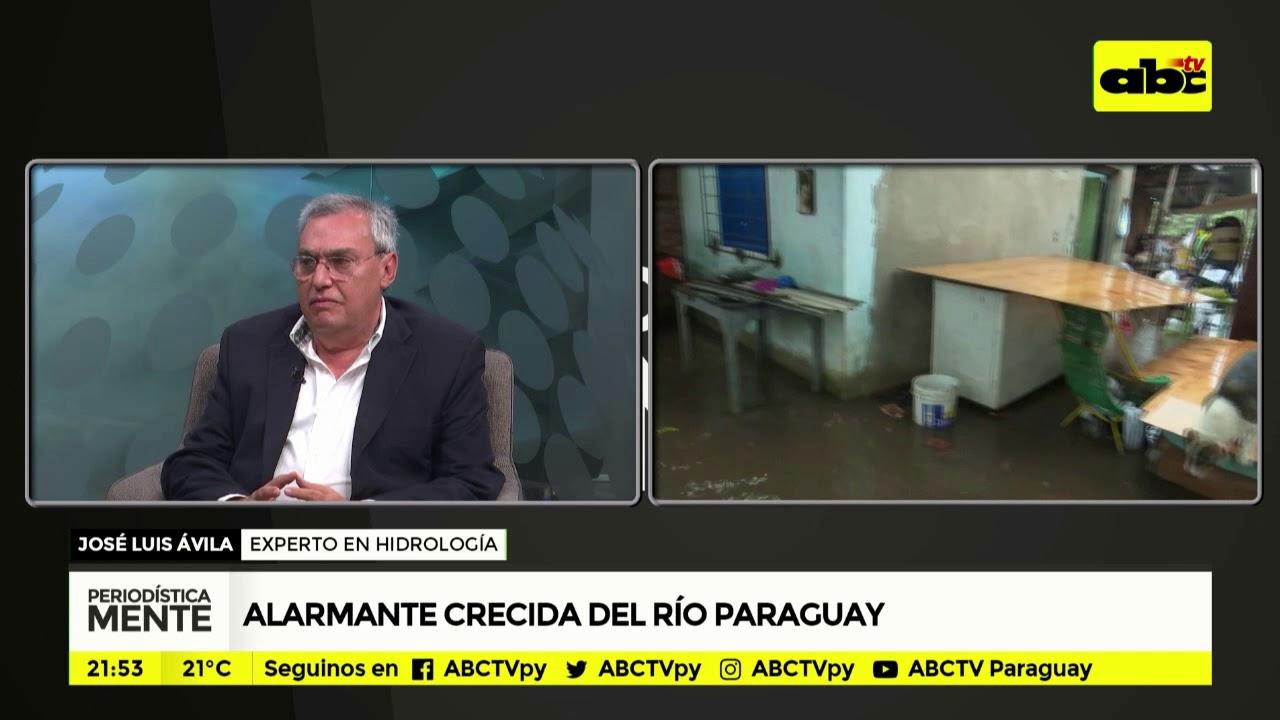 Alarmante crecida del río Paraguay - parte 2