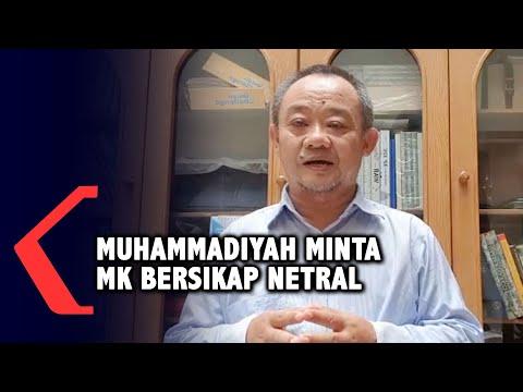 muhammadiyah minta mahkamah konstitusi bersikap netral dalam penyelesaian gugatan uu cipta kerja