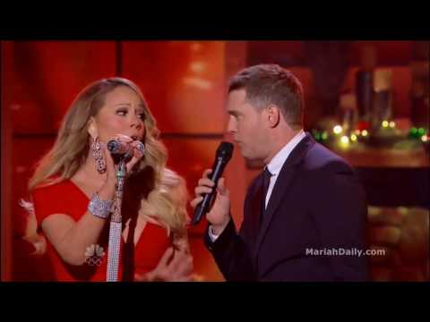 Mariah Carey - All I Want For Christmas Is You (Live Duet Michael Bublé) (Music Video) [HD] #Gay