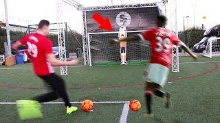 (NEVER SEEN ) ALEX HUNTER VS IMPOSSIBLE ROBOTIC GOALKEEPER FOOTBALL CHALLENGE