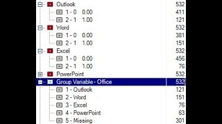 Grouping 0/1 variables to a multiple variable