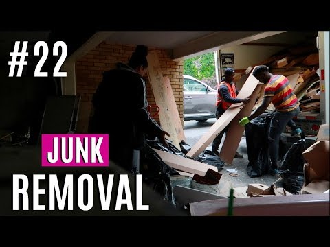 JOURNEY TO HOME #22 | GETTING RID OF THE JUNK | HOME RENOVATION CLEAN UP