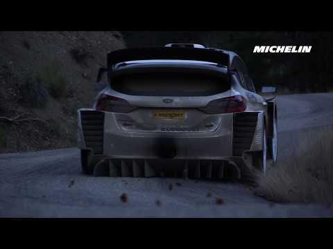 Teemu Suninen's testing - 2019 WRC Rallye Monte-Carlo - Michelin Motorsport