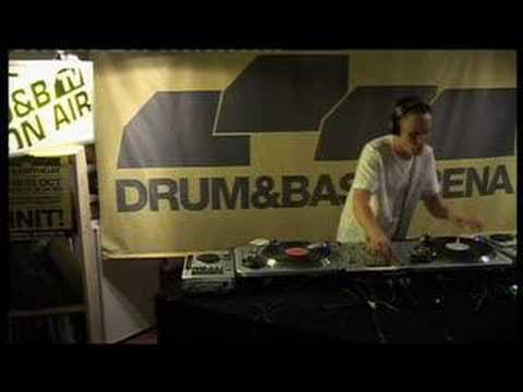 Dj A.M.C Live on DNB Arena TV