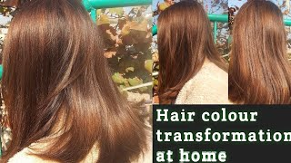 Black To Medium Ash Blonde || Colour Your Hair At Home || Using Balayage Technique /inexpensive !
