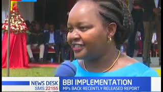 PS Kibicho and Ann Waiguru host several  leaders to assess  development progress in the area