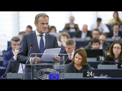 Ντ. Τουσκ σε ευρωκοινοβούλιο: Να είστε ανοιχτοί σε μια μακρά παράταση του Brexit…
