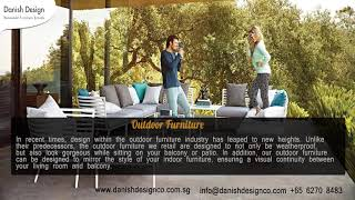 Outdoor Furniture Singapore