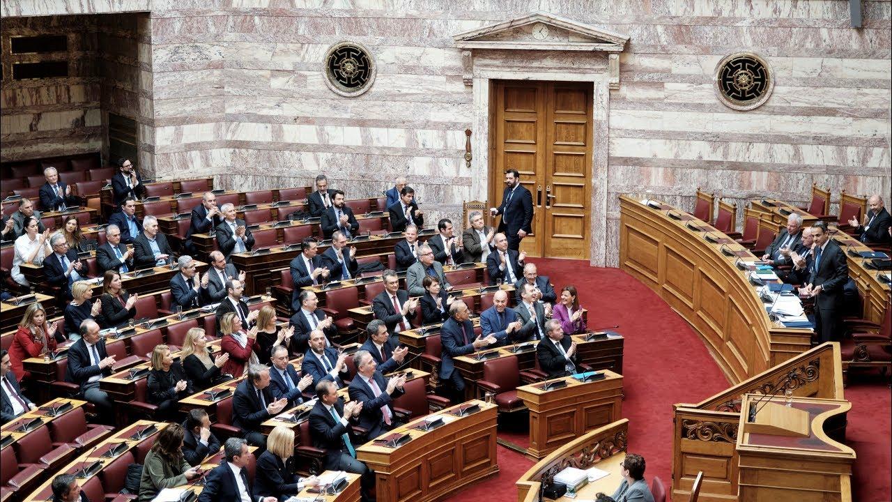 Τριτολογία του Πρωθυπουργού Κυριάκου Μητσοτάκη στη Βουλή, στη συζήτηση για τα εργασιακά