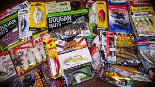 CHEAP Fishing Lures - I RAIDED The Store! (Tackle Unboxing)