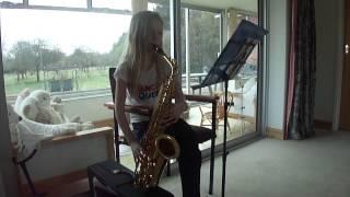 Alto saxophone the Entertainer