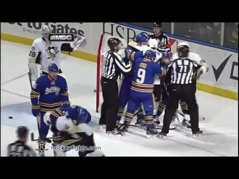Jason Pominville vs. Matt Cooke