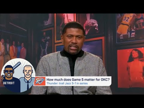 Jalen Rose: OKC Thunder have pretty much everything at stake in Game 5 | Jalen & Jacoby | ESPN