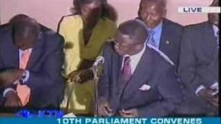 Babu Namwamba point of order in paliament