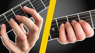 Zu kurze Finger zum Gitarre spielen? Das hilft sofort