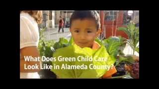 Green Child Care Program in Alameda County