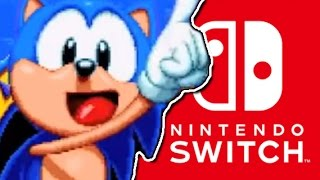 SONIC ON SWITCH! │ Sonic Mania Preview Nintendo Switch │ ProJared Plays!