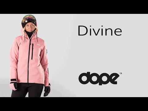 DOPE DIVINE - Snowboardjacke