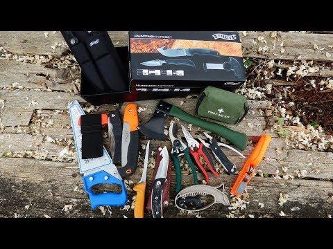 Coltelli, seghetti, trincetti, affilatori e accessori da campo di caccia TUT 87
