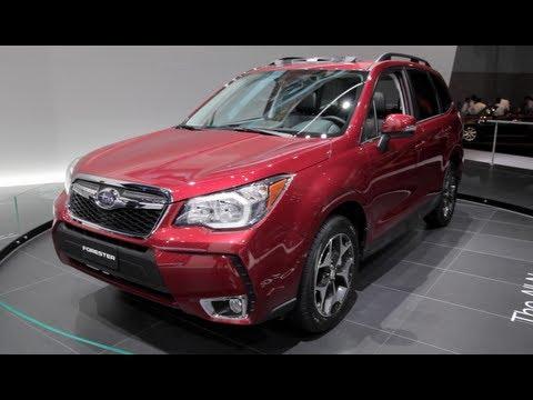 2014 Subaru Forester - 2012 L.A. Auto Show