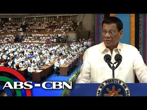 Part 3 of President Rodrigo Duterte's State of the Nation Address on July 22, 2019