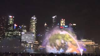 Сингапур, шоу на Marina Bay