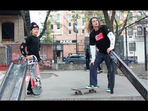 Barbara Kruger Manhattan Skatepark