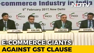 Amazon, Flipkart, Snapdeal Join Hands Against Draft Model GST Law