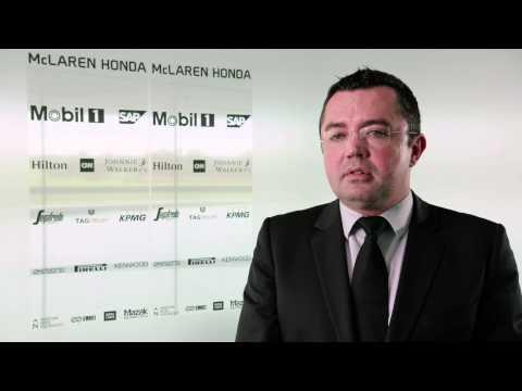 McLaren-Honda MP4-30 Car Launch: Interview with Eric Boullier