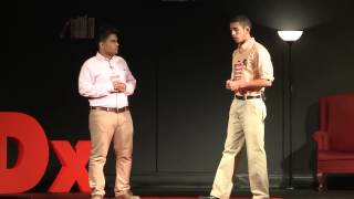 preview picture of video 'Medicine for the People: Ahmad Amer & Arsalan Siddiqui at TEDxDhahranHighSchool'